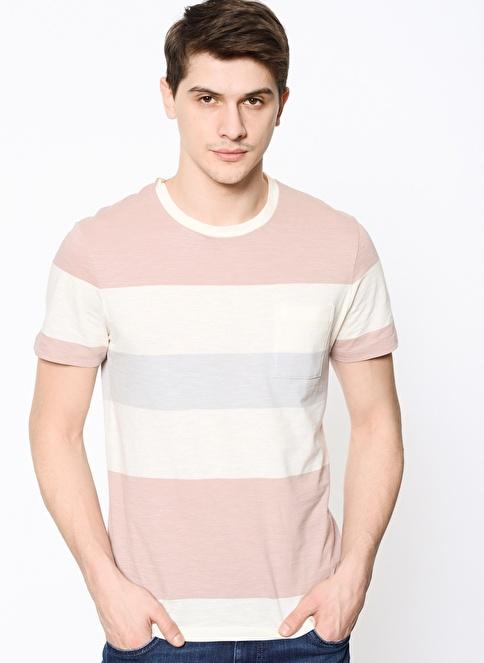 Selected Çizgili T-Shirt Renkli